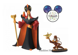 Aladdin - Jafar & Abu Set van 2 beelden ENchanting Disney