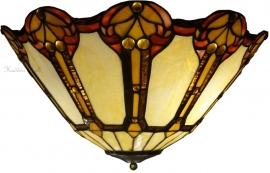 5765-80 Plafonniere Tiffany Ø45cm
