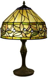 T046S Tafellamp Tiffany H48cm Ø30cm Ashtead