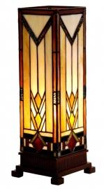 9331 Tafellamp Tiffany H35cm Miniwindlicht Durban