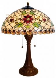 5845 Tafellamp Tiffany H61cm Ø40cm Santana