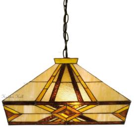 5520 97 Hanglamp Tiffany 41x41cm Emile