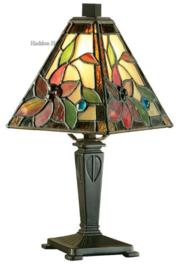 TG103MIN Tafellamp Tiffany H31cm 14x14cm Lelani