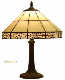 3087 9022 Tafellamp Tiffany  H41cm Ø32cm  Serenity
