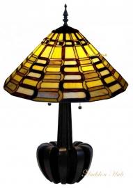 9340 5405 Tafellamp Tiffany H72cm Ø49cm