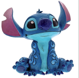 "STITCH ""Big Trouble"" H 36cm! Jim Shore 6000971 Statement Figurine"