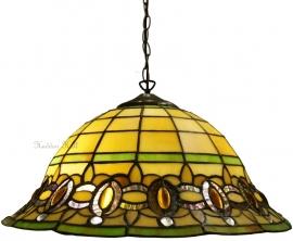 "5805 97 Hanglamp Tiffany Ø40cm ""Olive"""