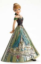 """Frozen Anna  """"Arendelle Royalty"""" H16cm Jim Shore  4048661"""
