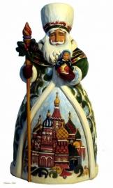 """JIM SHORE """"Grandfather frost"""" H19cm Russian Santa  4017650"""