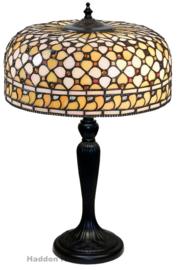 T021M Tafellamp Tiffany H45cm Ø30cm Mille Feux
