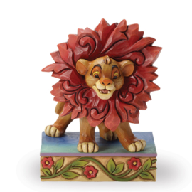 "Lion King SIMBA ""Just Can't Wait to be King"" H 10cm Jim Shore 4032861"