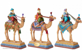 Three Kings Collectors Edition H45cm! Set van 3 Koningen  Jim Shore 6006707 limited