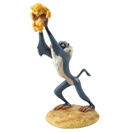 "RAFIKI & SIMBA Figurine ""A King Is Born""  H 16cm Enchanting Disney A27705"