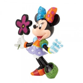 Minnie Mouse with Flowers H 21cm Disney by Britto 4058181