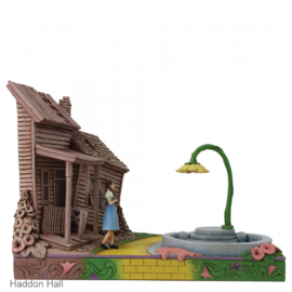 Wizard of OZ Dorothy Stepping Kansas to OZ H18cm Jim Shore 6005081