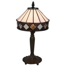 5197 Tafellamp Tiffany H36cm Ø19cm Fargo