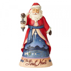 Christmas Song Santa - 13th in Series H25cm Jim Shore 6004130