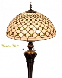5300 9459 Vloerlamp Tiffany Ø50cm Jewel  Bolling in de voet
