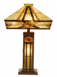 5520 Tafellamp Tiffany H71cm 41x41cm Emile