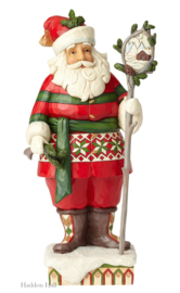 """Woodsy Santa"" H26,5cm Jim Shore 6001469"