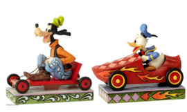 Goofy & Donald Set van 2 Jim Shore Disney