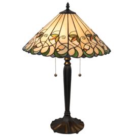 T095 Tafellamp Tiffany H62cm Ø41cm Jamelia