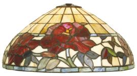 DT34 Kap Tiffany Ø36cm Red Rose