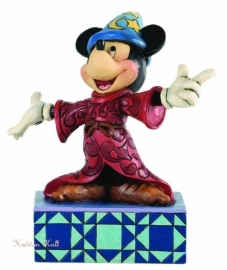 MICKEY  Sorcerer's  Apprentice H16 cm  Jim Shore 4033285 Disney Traditions