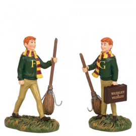 Harry Potter - Fred & George Weasley - Figurine H8cm 6003332