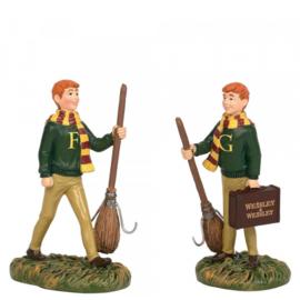 Harry Potter - Fred & George Weasley - Figurine H8cm 6003332