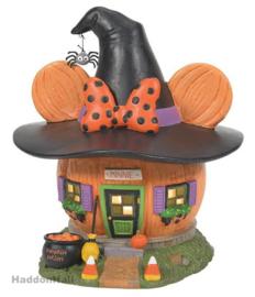 Minnie Pumpkintown House Halloween H20cm D56 6007727