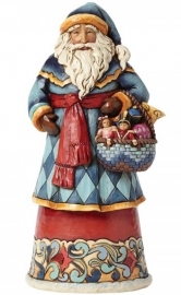 """Gifts From The Heart"" H25cm Jim Shore Santa 4041065 uit 2014"