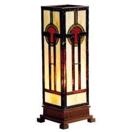 9334 Tiffany lamp H35cm Miniwindlicht