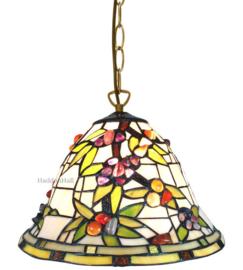 6019 Hanglamp Tiffany Ø31cm Pierres
