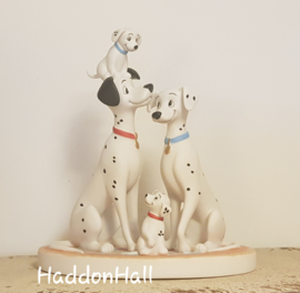 "101 Dalmatians H18cm ""I love You.."" Disney Showcase 154702"