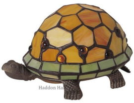 "Tiffany lamp ""Schildpad"" B22cm Parel"