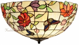 "TV158M-80 Plafonniere Tiffany Ø40cm ""Butterfly"""