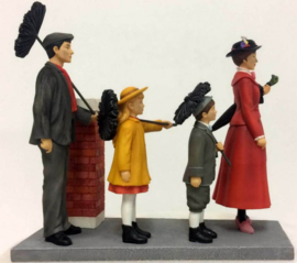 "MARY POPPINS Scene ""Step In Time"" H 20cm Enchanting Disney A29030"