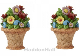 Mini Flower Bouquet - Set van 2 - Jim Shore 6008792