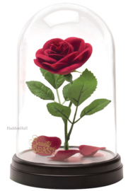 Beauty & The Beast Enchanted Rose Light H20cm