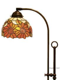 Y8327 Vloerlamp Verstelbaar met  Tiffany kap Ø20cm Sunflowers