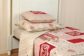Q062 Clayre & Eef Bedsprei 230 x 260 cm Quilt Patchwork