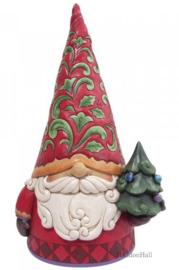 Gnome Statue Statement Figurine  H46cm! Jim Shore 6009187 beperkte beschikbaarheid