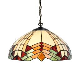 5961 Hanglamp Tiffany Ø40cm Stricta