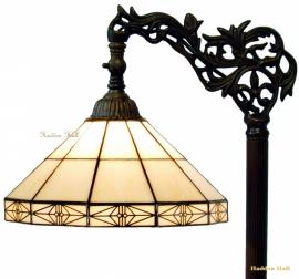 3087 Vloerlamp H164cm met Tiffany kap Ø32cm Serenity