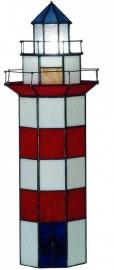 """1166 Tiffany lamp """"Vuurtoren"""" H56cm"""