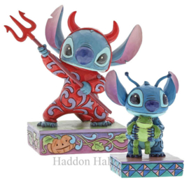 "Stitch Set van 2 ""Strange Life-forms"" & ""Devilish Delight"" Jim Shore"