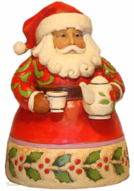 Cup of Christmas Cheer H13cm Jim Shore Pint Santa uit 2011 4022910