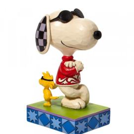 Joe Cool Snoopy & Woodstock H8cm Jim Shore 6010115