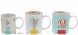 Dumbo - Set van 3 mokken  A29590